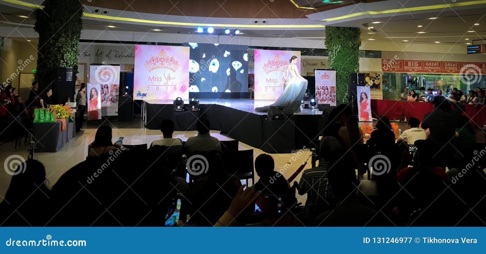 Competição de beleza nas Filipinas