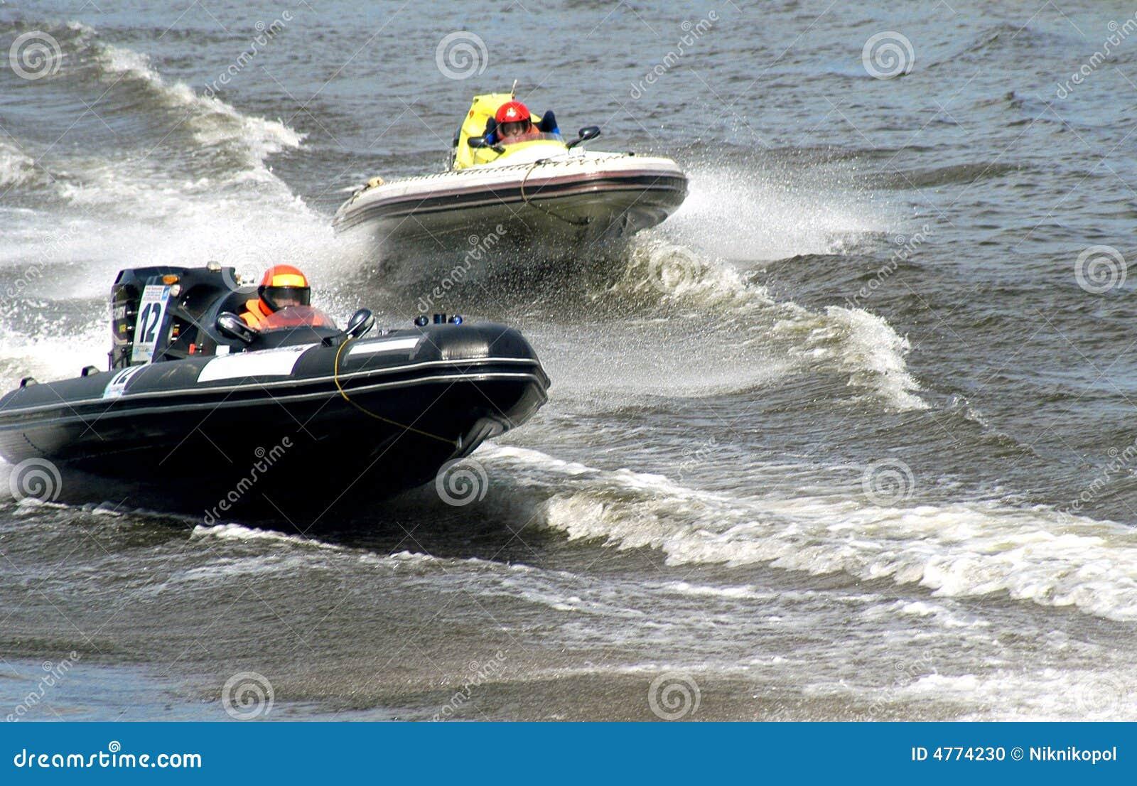 Competição dos barcos