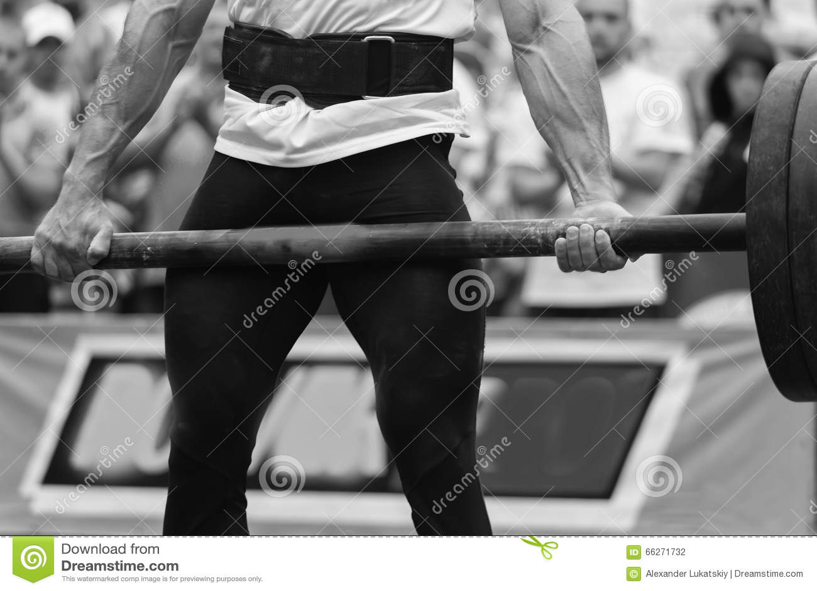 Competições de Powerlifting na rua