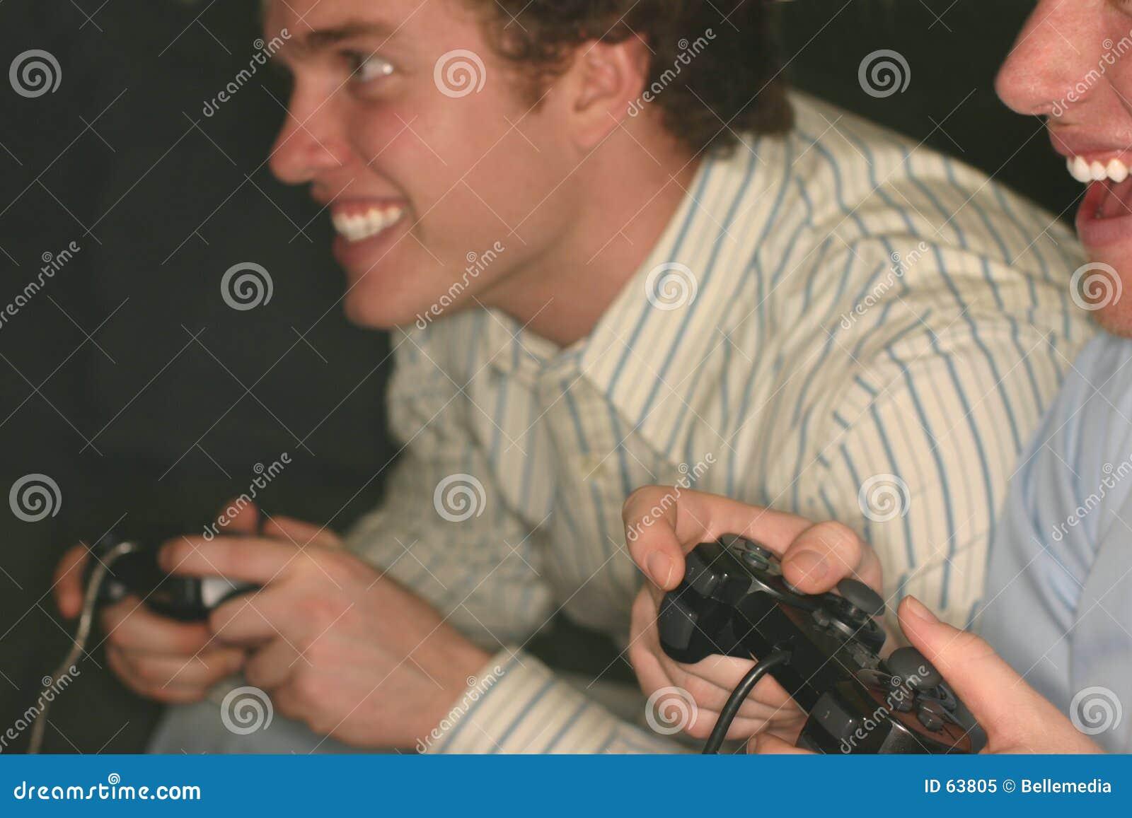 Competición del juego video