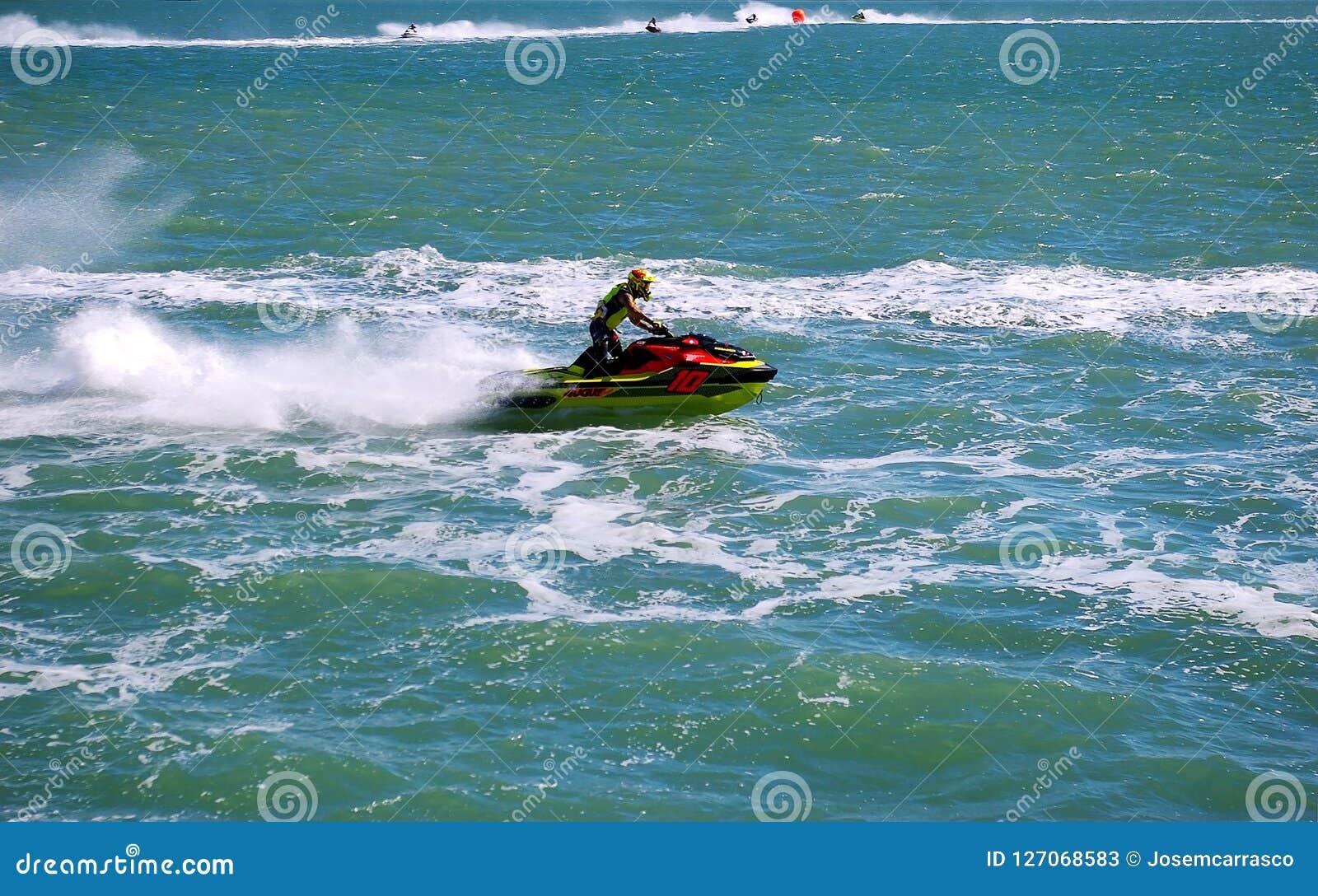Superstar Nude Jet Ski Races Scenes