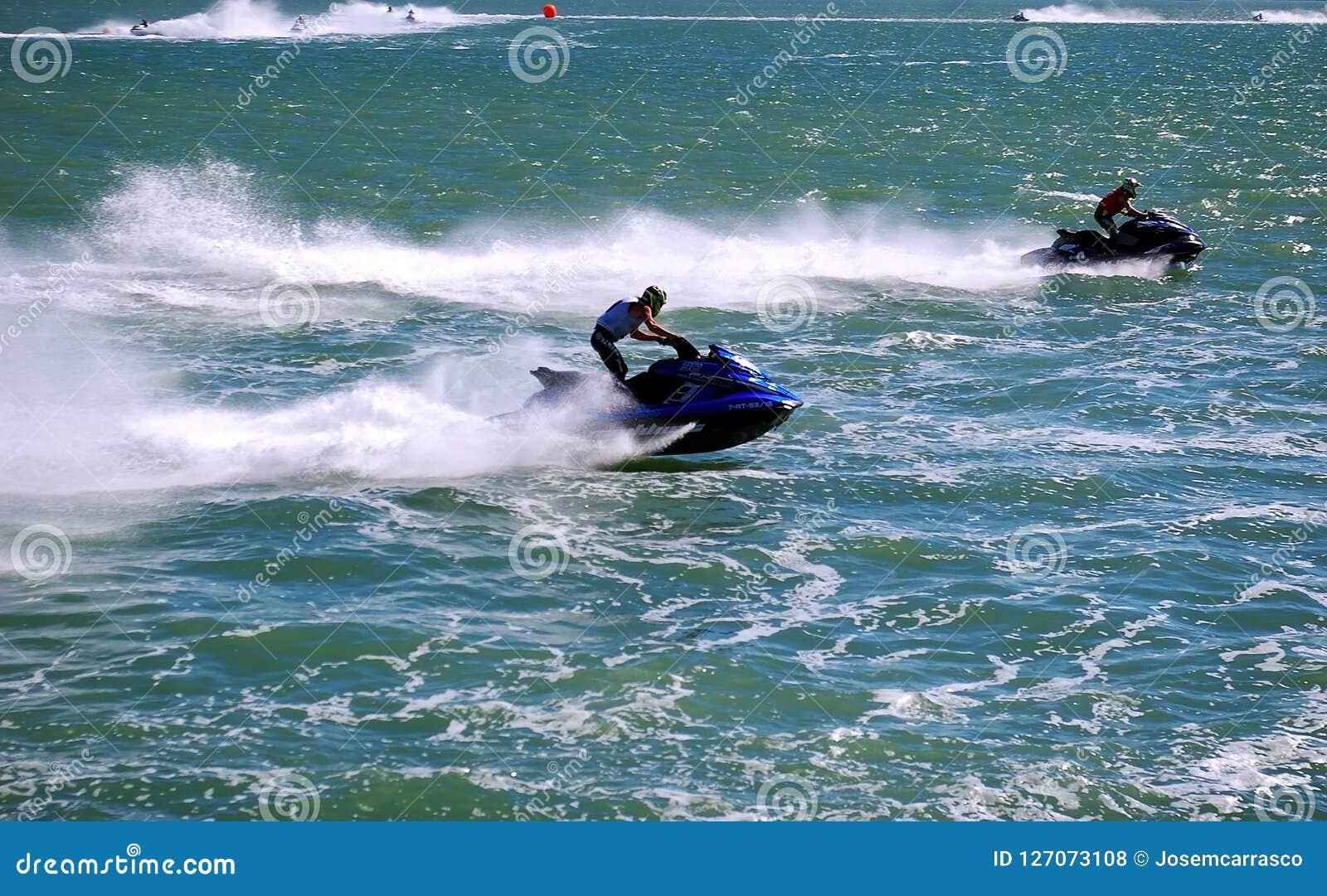 Bikini Nude Jet Ski Races Gif