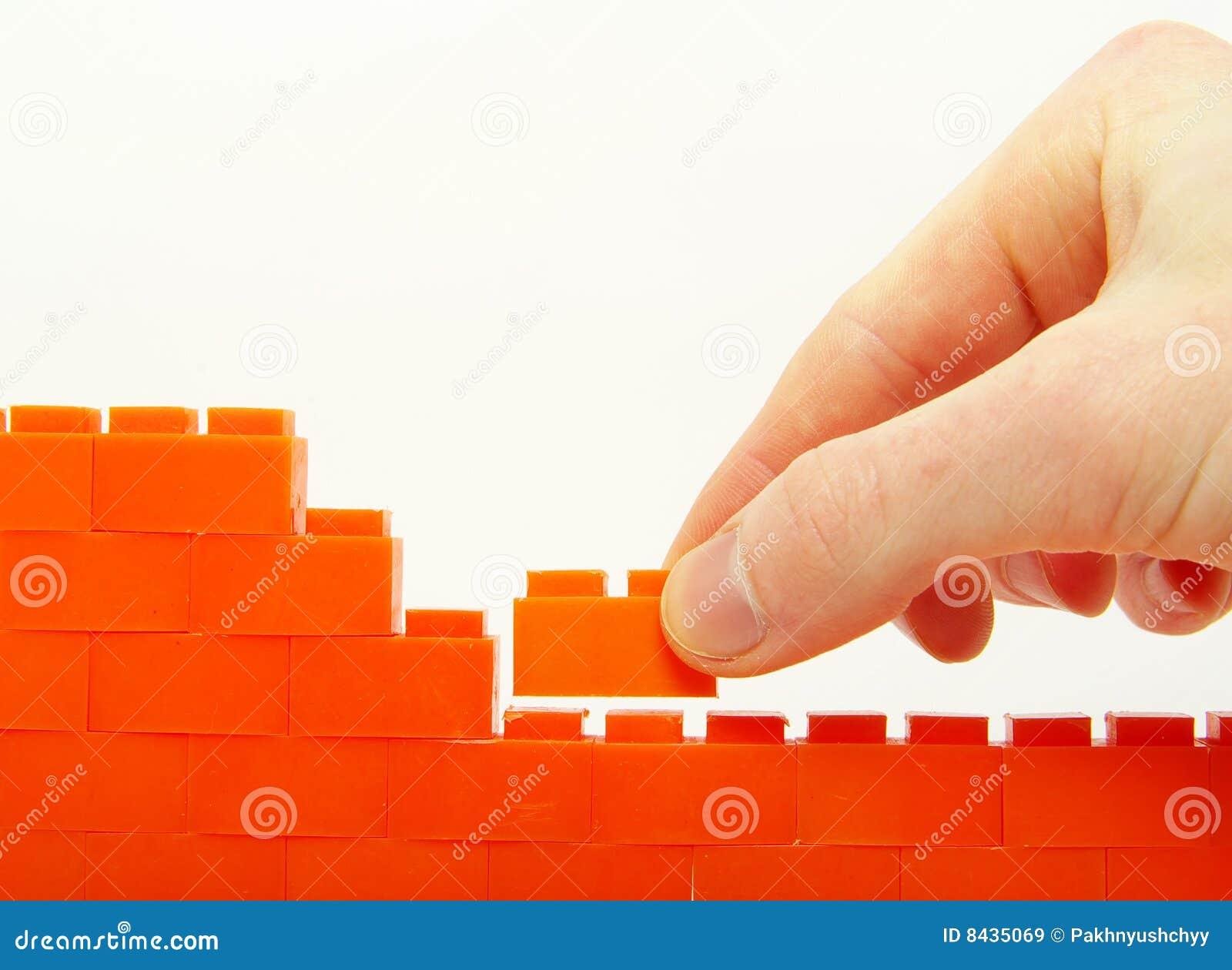 Compleeting la parete