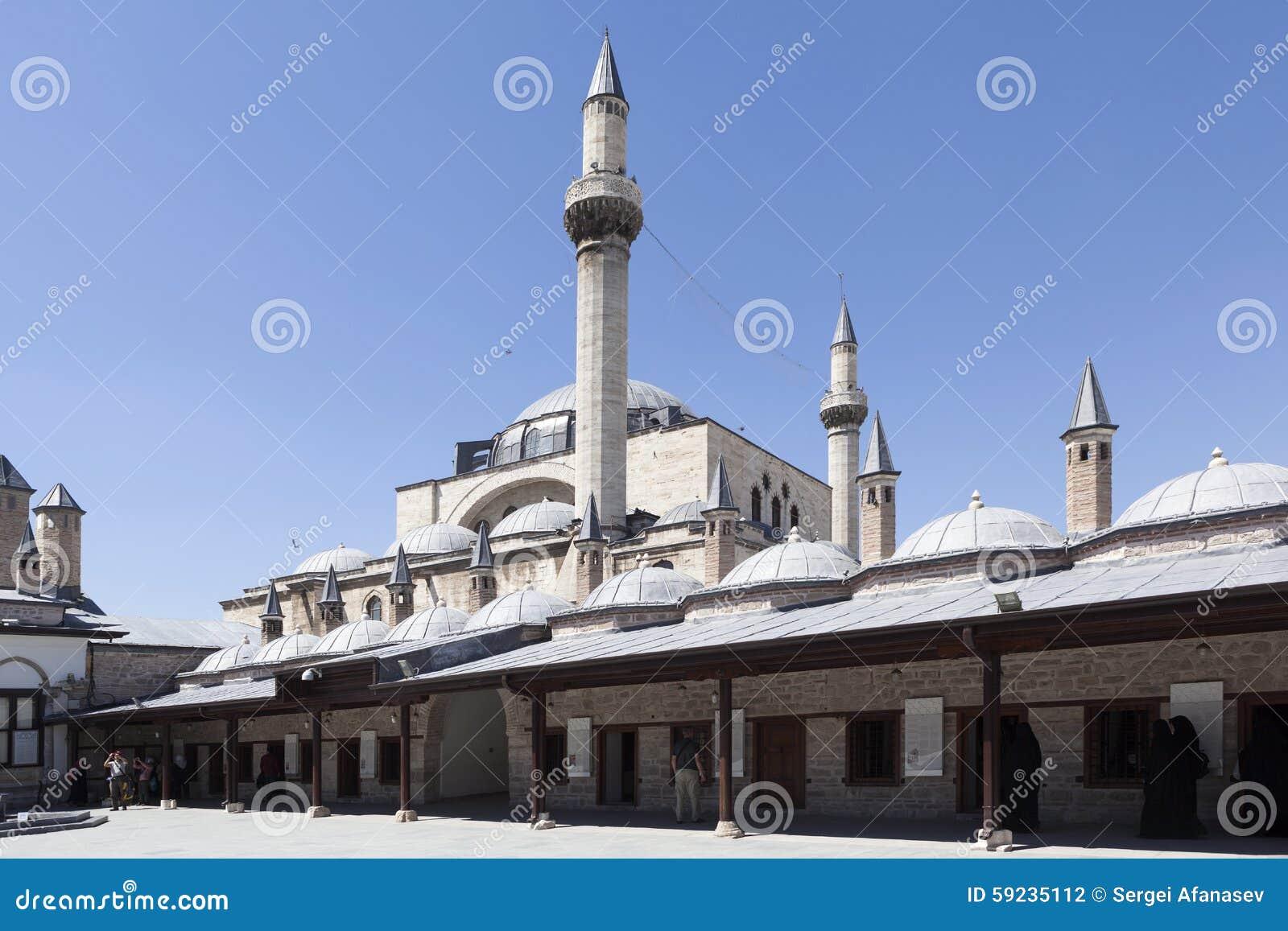 Download Complejo Religioso De Mevlana Konya Turquía Foto de archivo - Imagen de mezquita, viejo: 59235112
