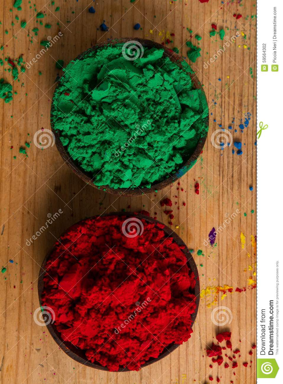 Complementary Colours: Green And Red Stock Photo - Image of spectrum ...