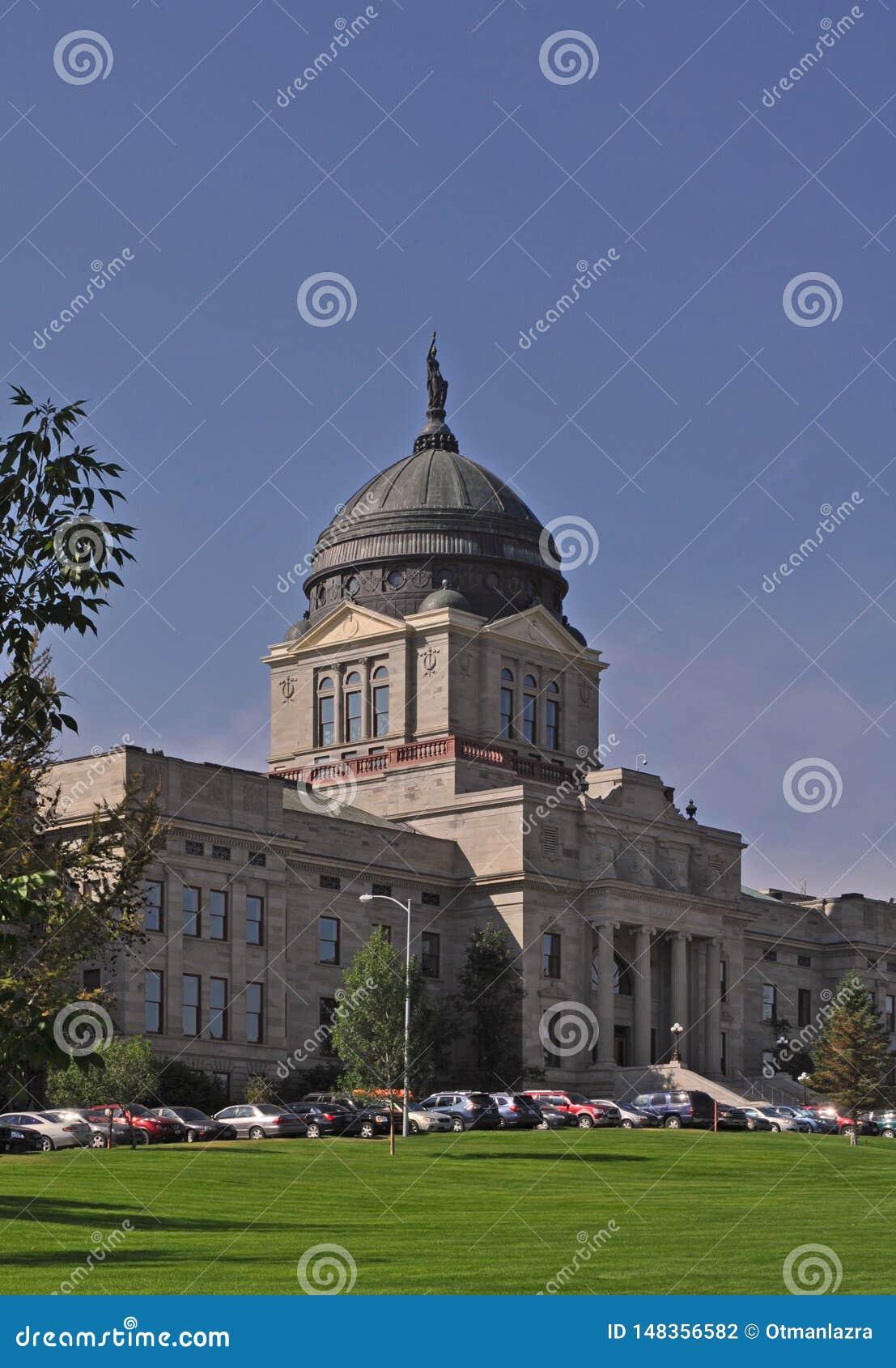 Complesso del capitol dello stato a stato di Helena, Montana