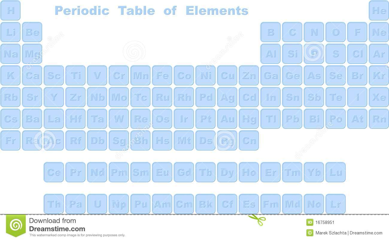 Complete periodic table of elements stock vector illustration complete periodic table of elements urtaz Gallery