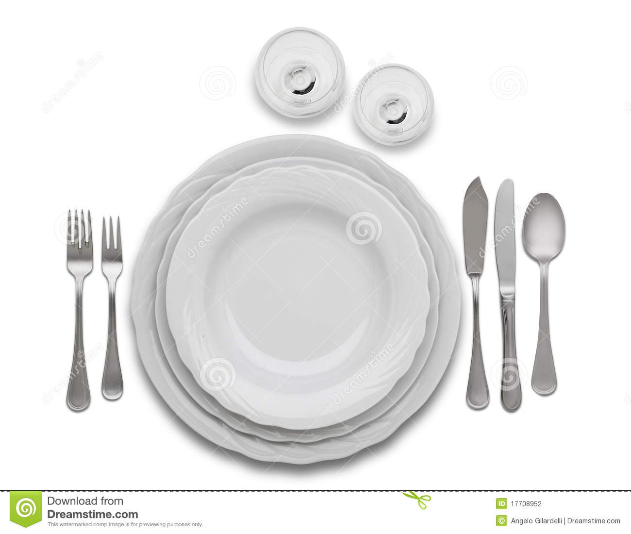 Complete Restaurant Set Table Stock Photo Image Of Glasses - How to set a table in a restaurant