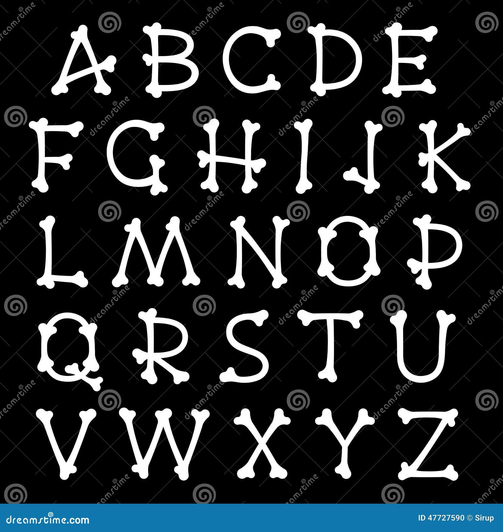 Skeleton Letter Template