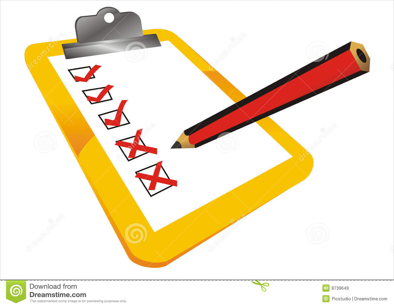 Completed Tasks Royalty Free Stock Images - Image: 8739649