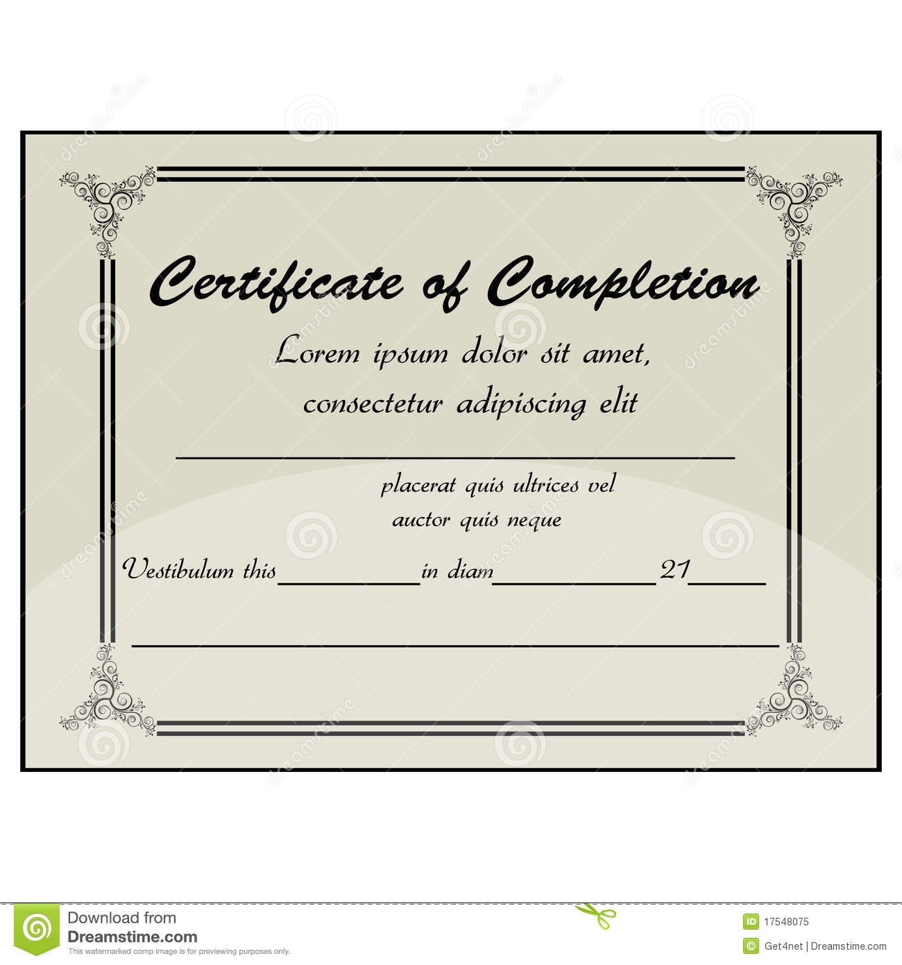 Doc585414 Computer Course Completion Certificate Format Word – Computer Certificate Format