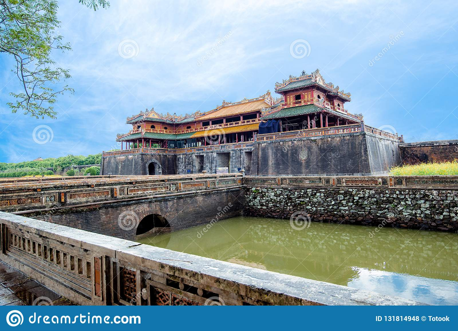 Complex of Hue Monuments in Hue, Vietnam.