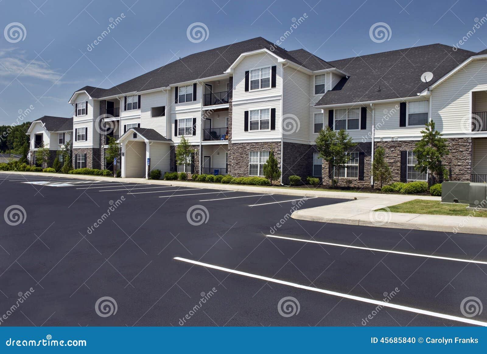 Complexo de apartamentos luxuoso