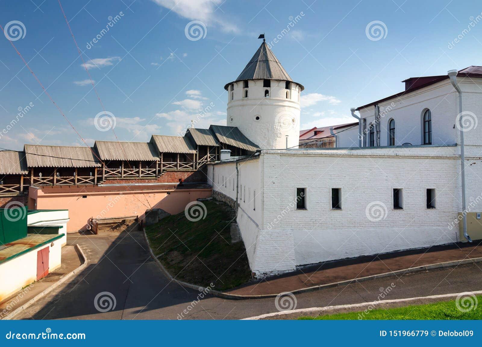 Complexo de monumentos arquitetónicos, república do Kremlin de Kazan de Tartaristão