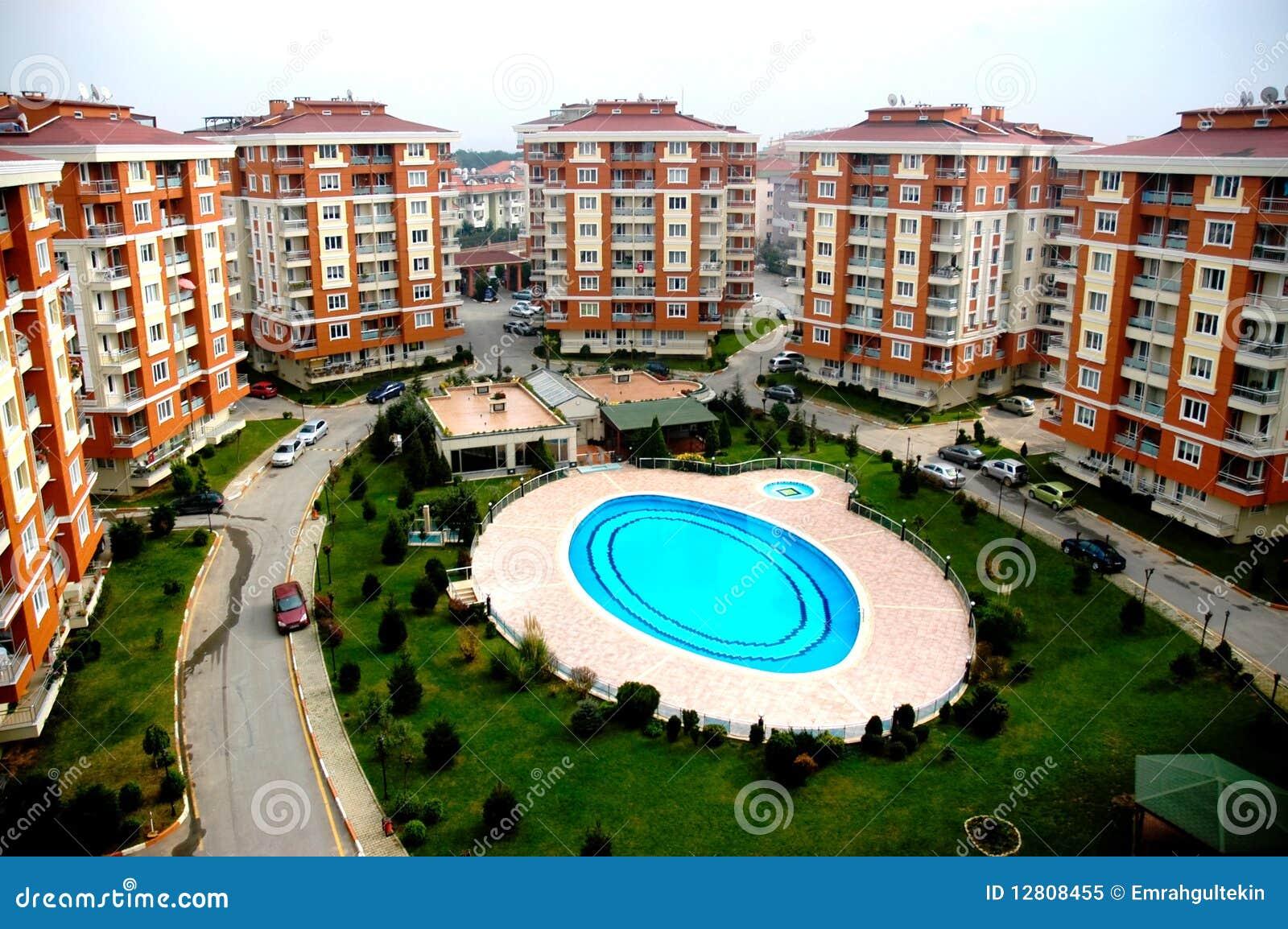 Complexo do hotel do turista