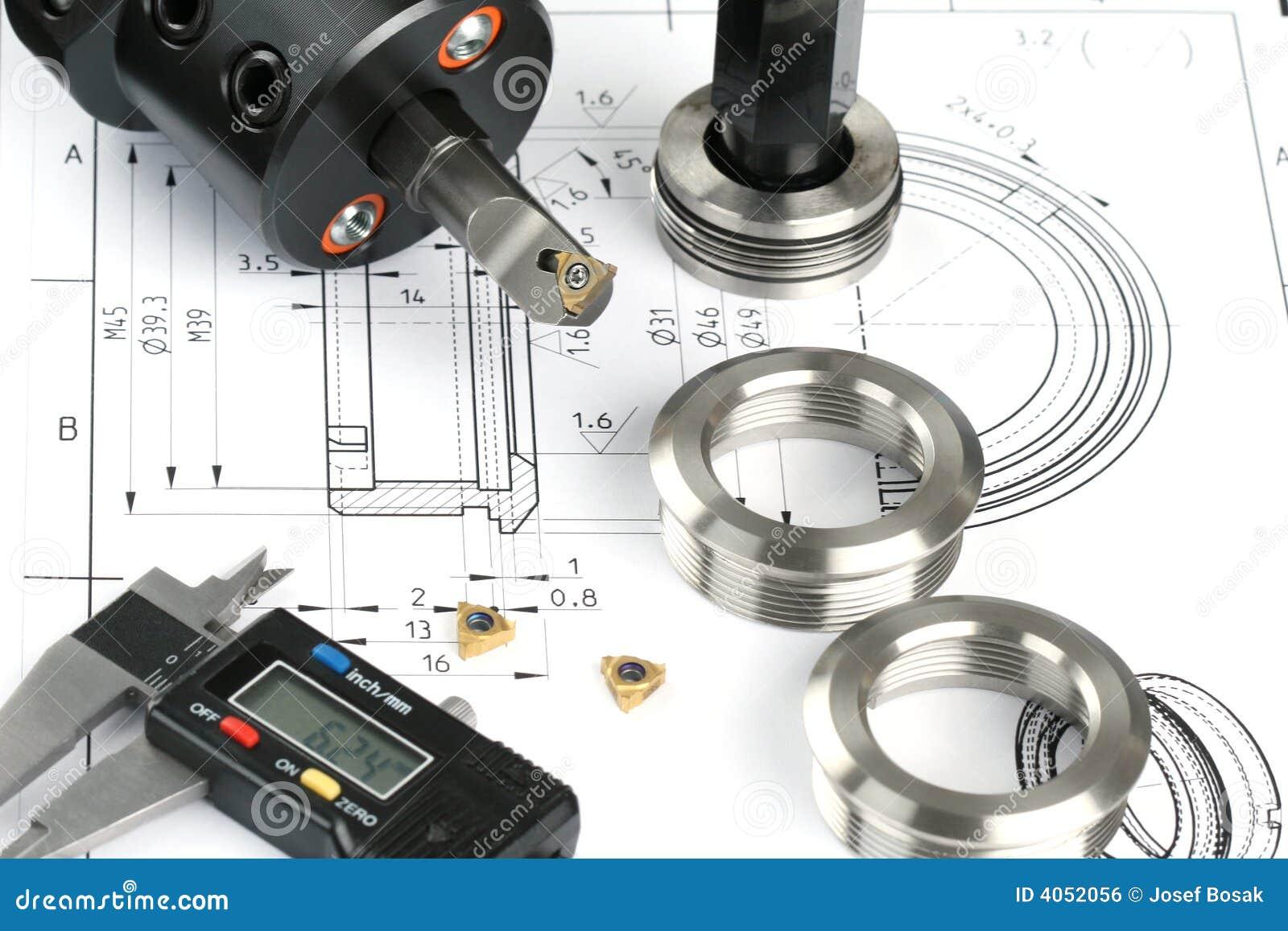 Componentes de medición del metal