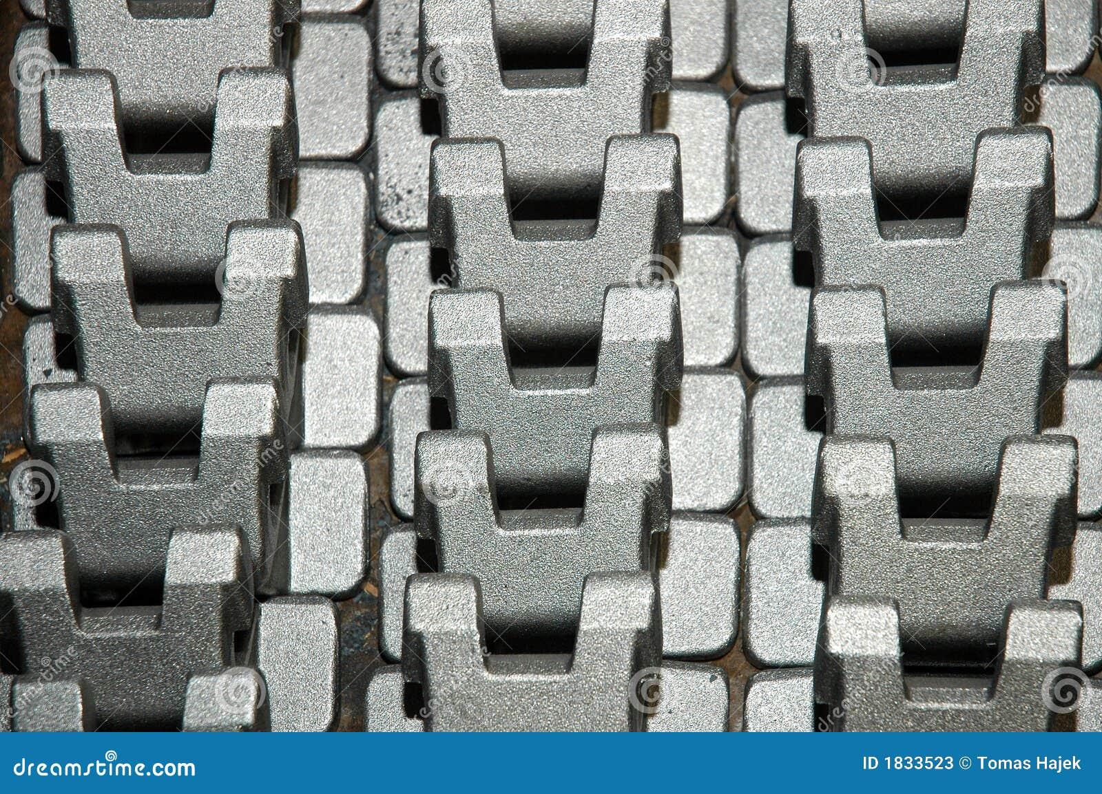 Componentes del metal