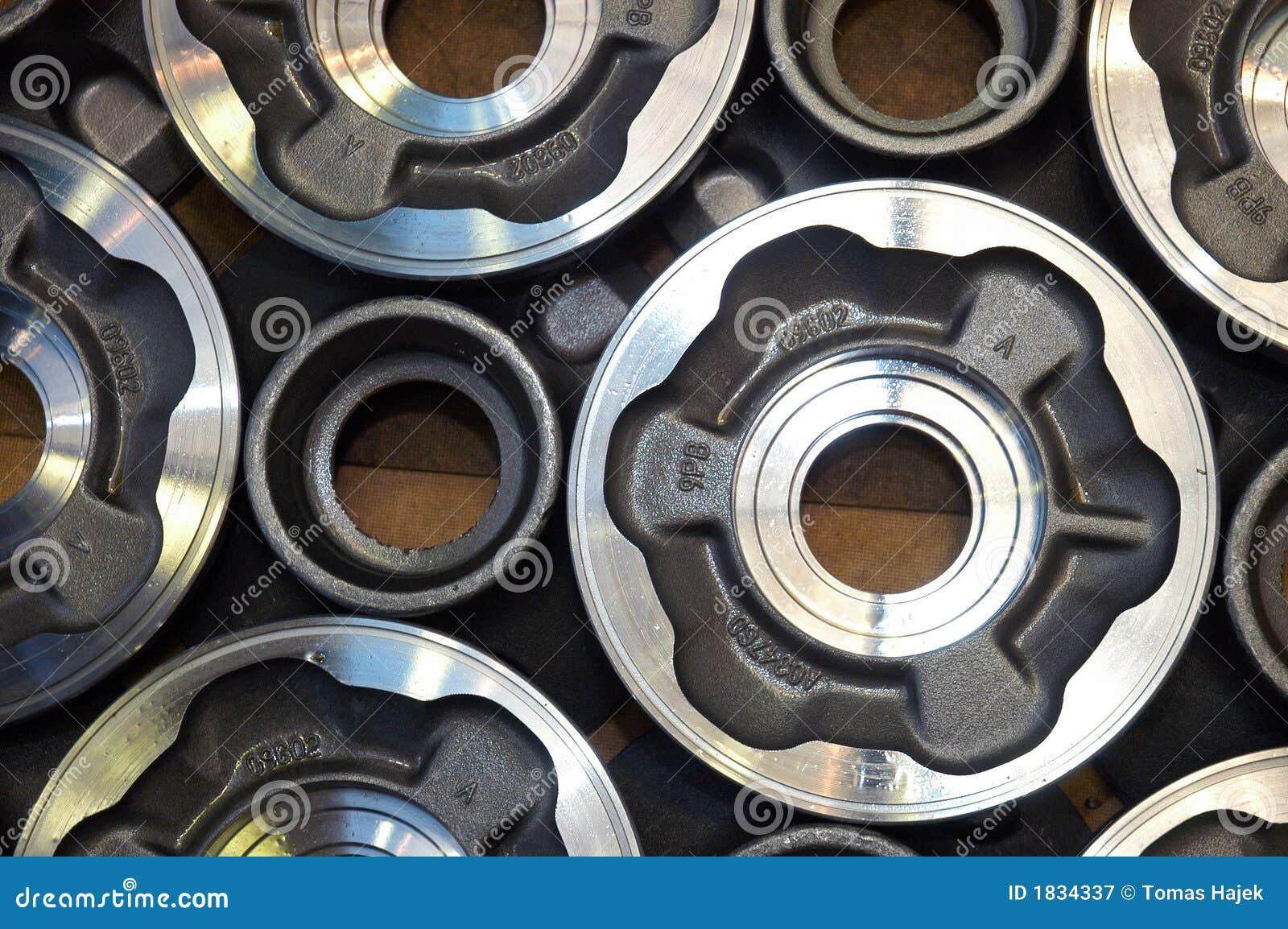 Componentes do metal