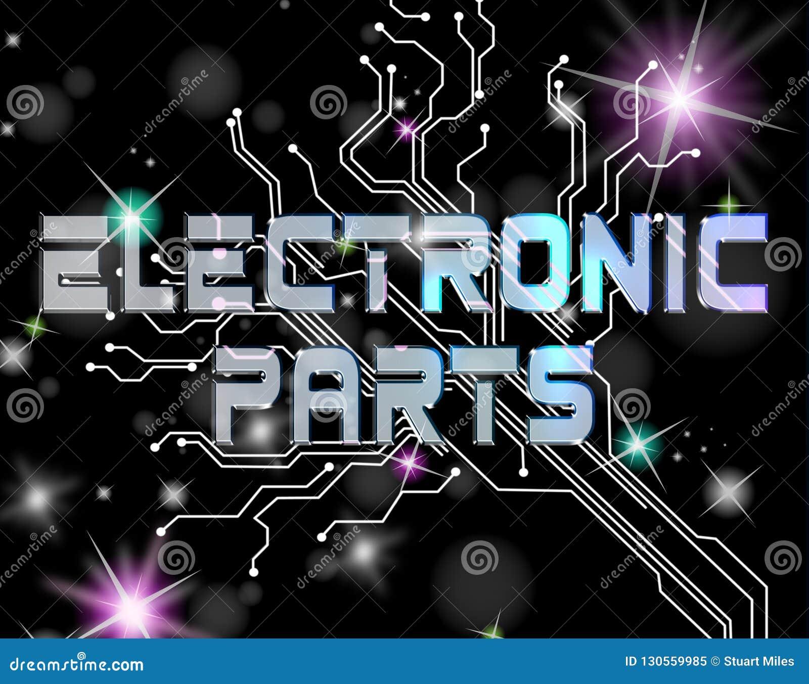 Componentes electrónicos que indican al técnico Processors And Processor
