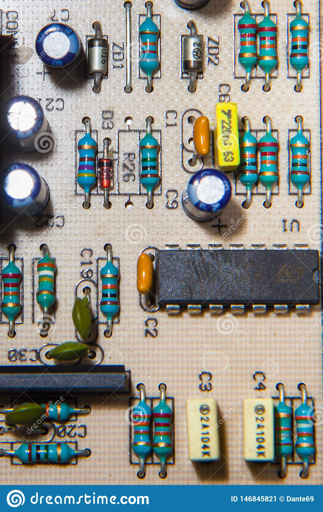 capacitor resistor transistor diode electronic components youtube