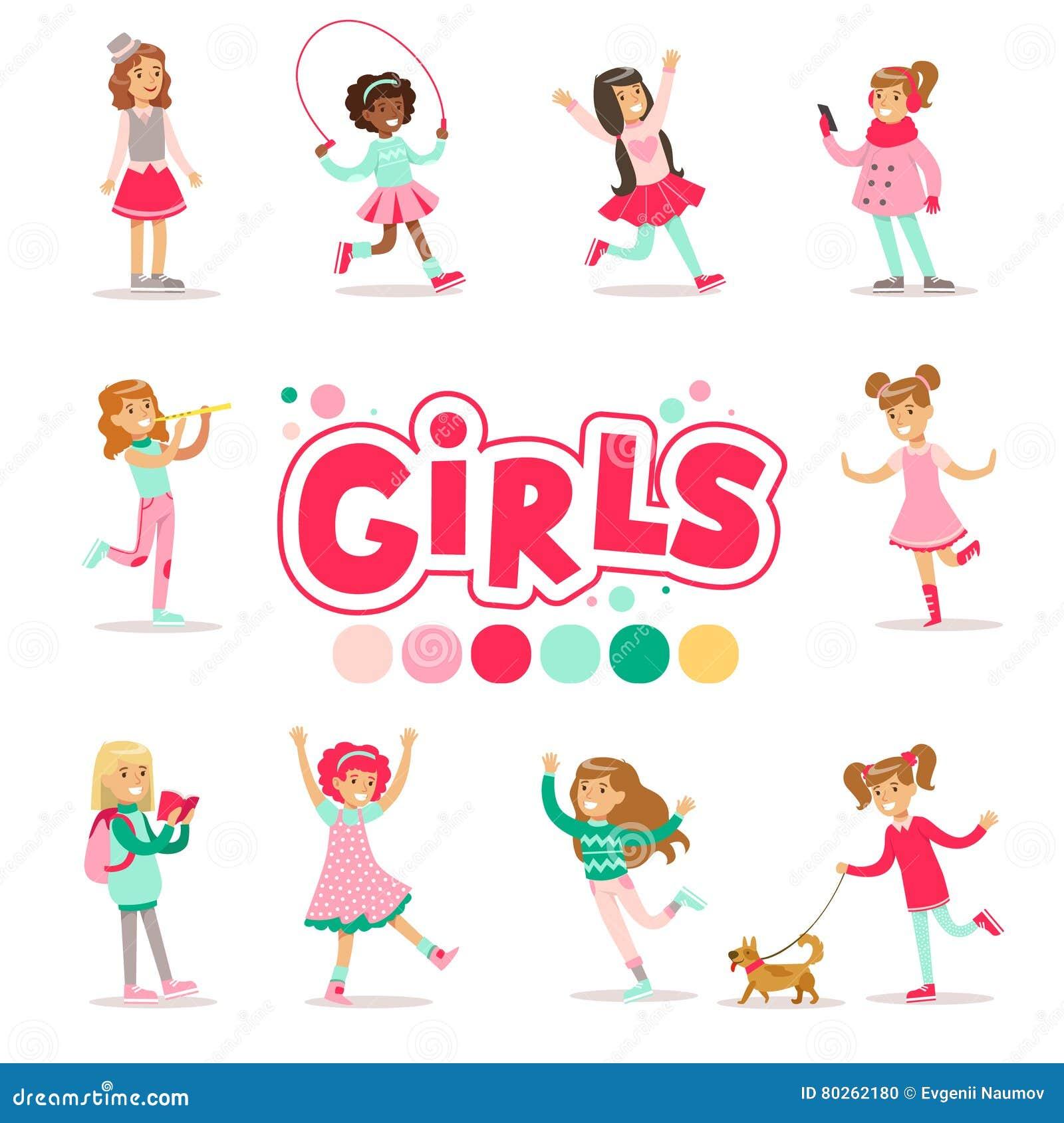 Comportamiento Previsto Feliz Y Su Clasico Con Los Juegos Femeninos