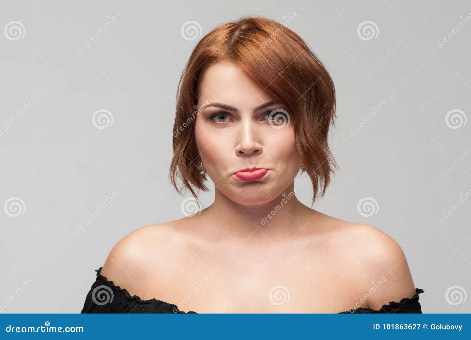 Comportement désagréable Offense de prise femelle