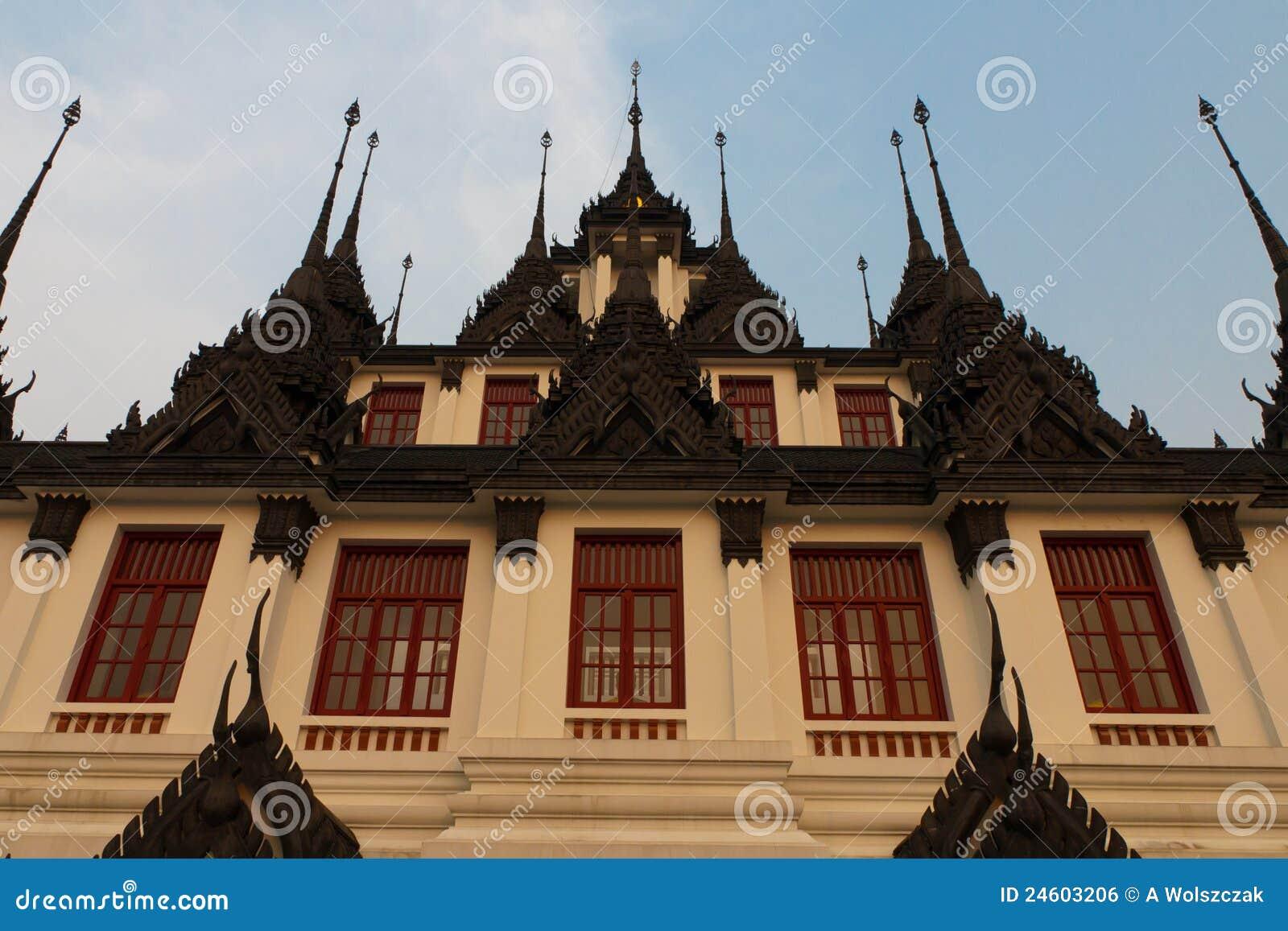 Composé de temple de la Thaïlande