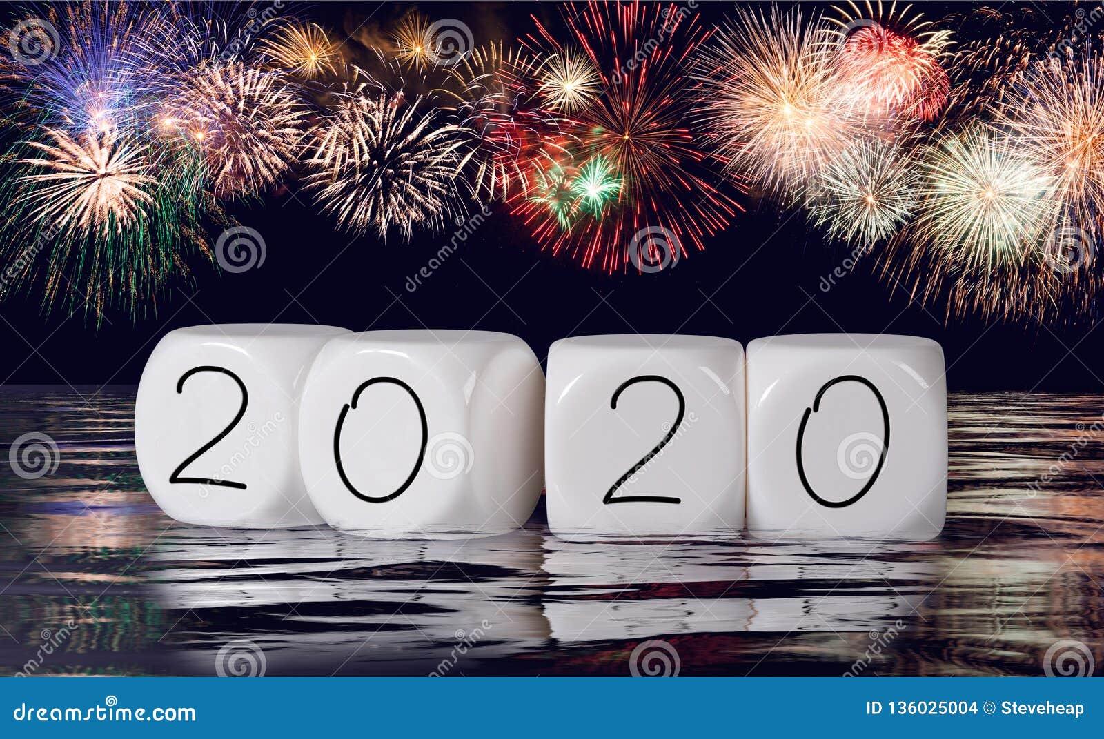 Calendrier Feu D Artifice 2020.Compose Des Feux D Artifice Et Du Calendrier Pour Le Fond De