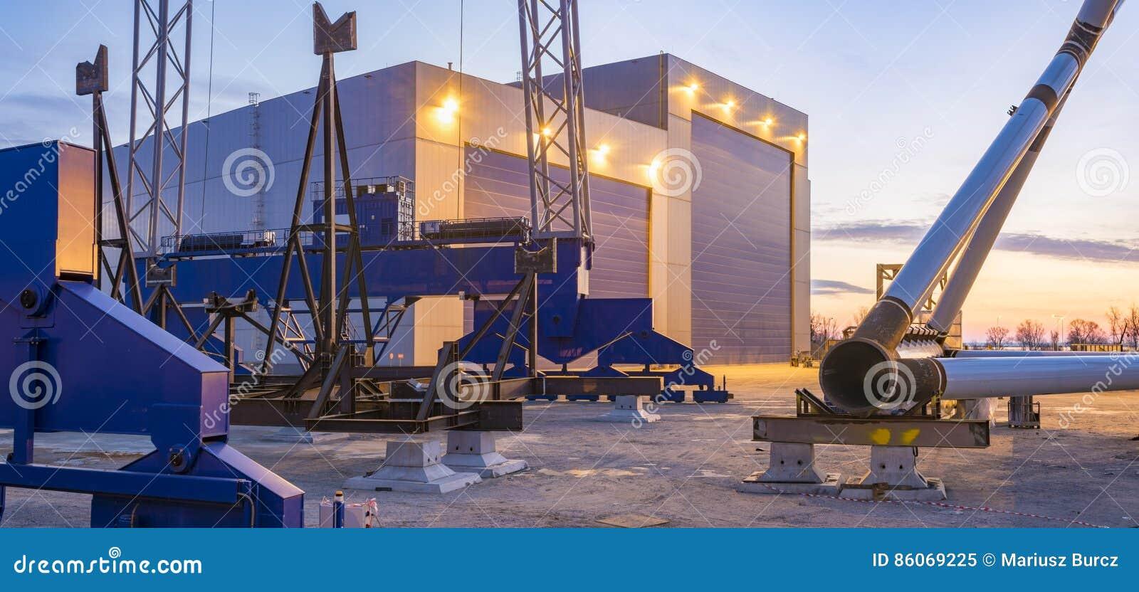 Composants d usine pour des fermes de vent de reflux