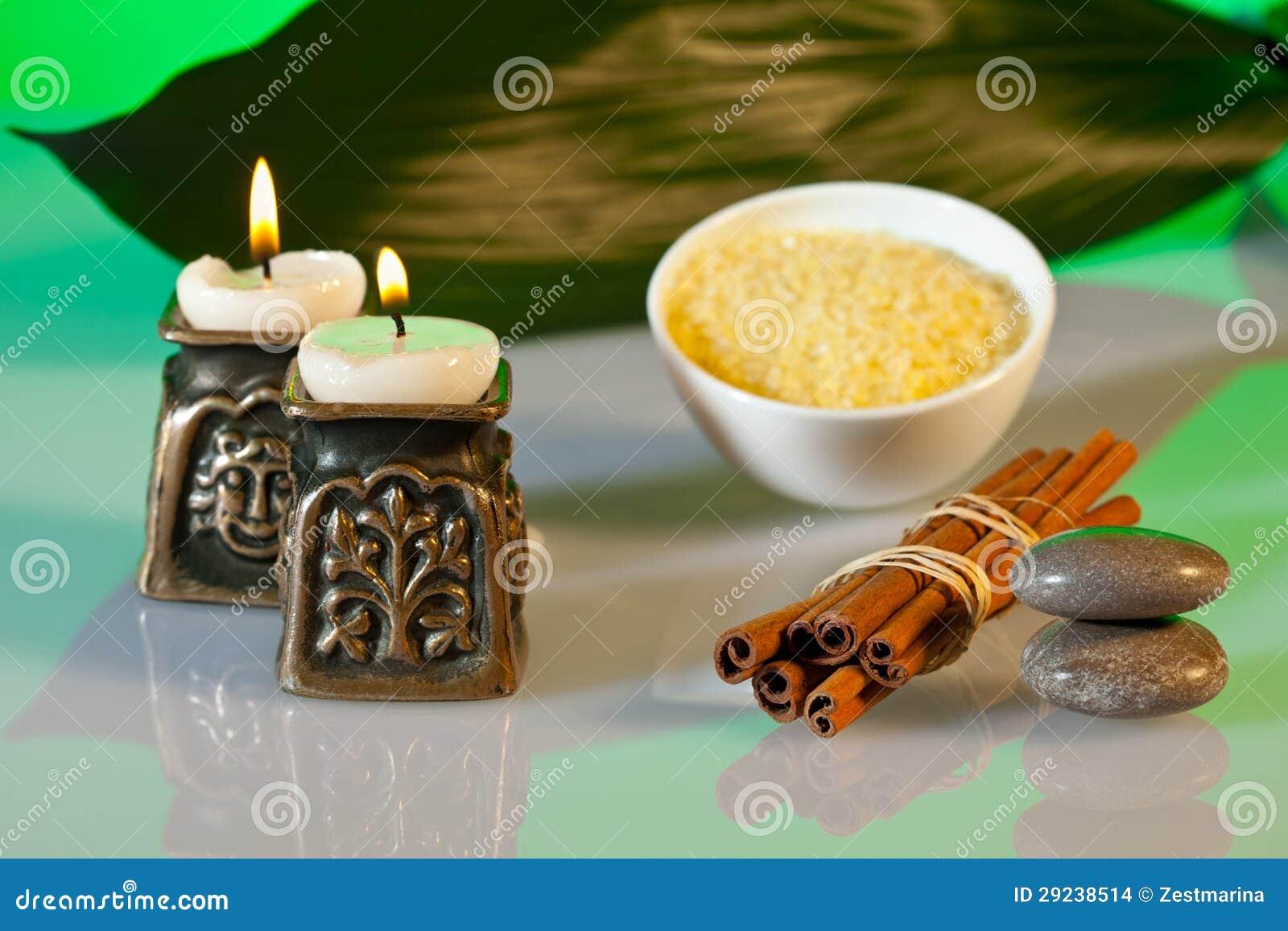 Download Composição Da Aromaterapia E Dos Termas Foto de Stock - Imagem de floral, cosméticos: 29238514
