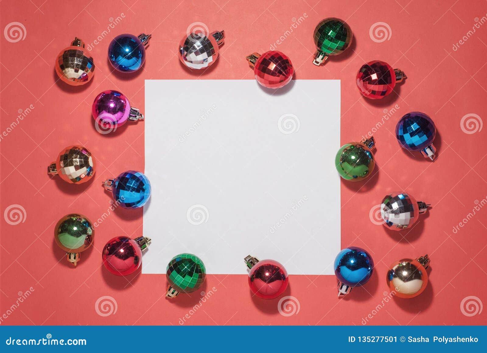 Composição do Natal Brinquedos do Natal sobre