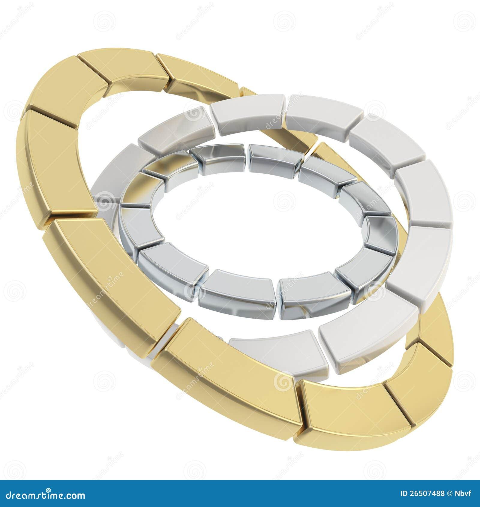 Composição segmentada do círculo