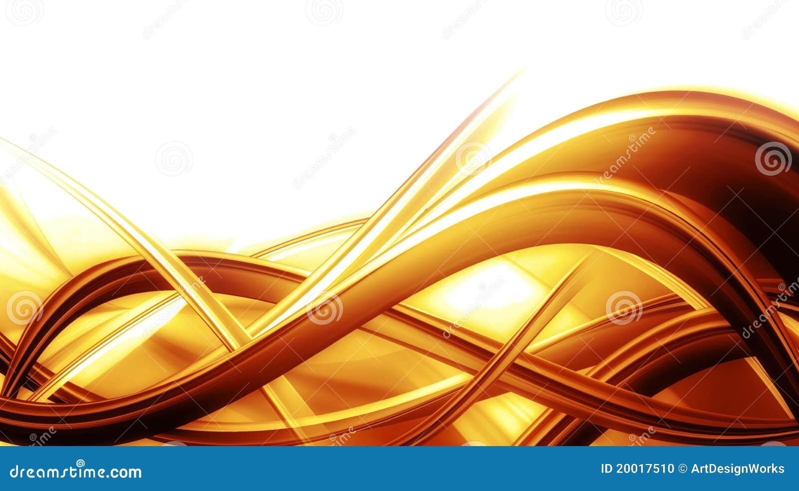 Composición abstracta del fondo con color anaranjado