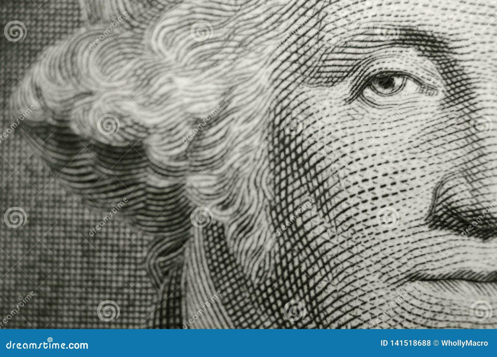 Composición compensada que ofrece el ojo del freemason, fundador, George Washington