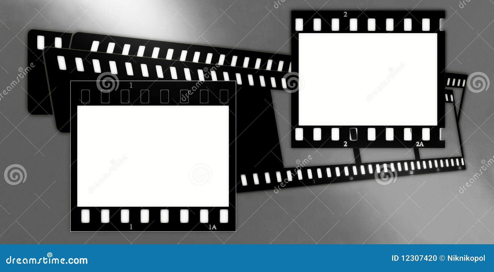 Composición de los marcos de la película (cromo, suaves) (diapositivas) 2