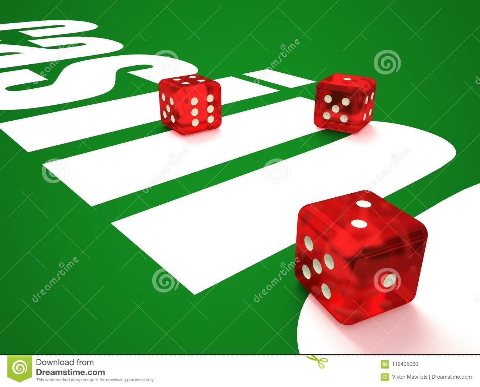 Composición de los microprocesadores de los dados y del casino