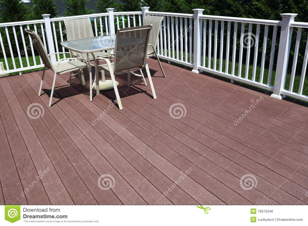 Composite Deck Royalty Free Stock Image Image 19515046