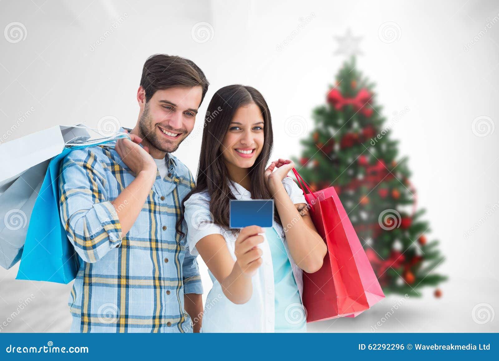 Couple dresses online shopping