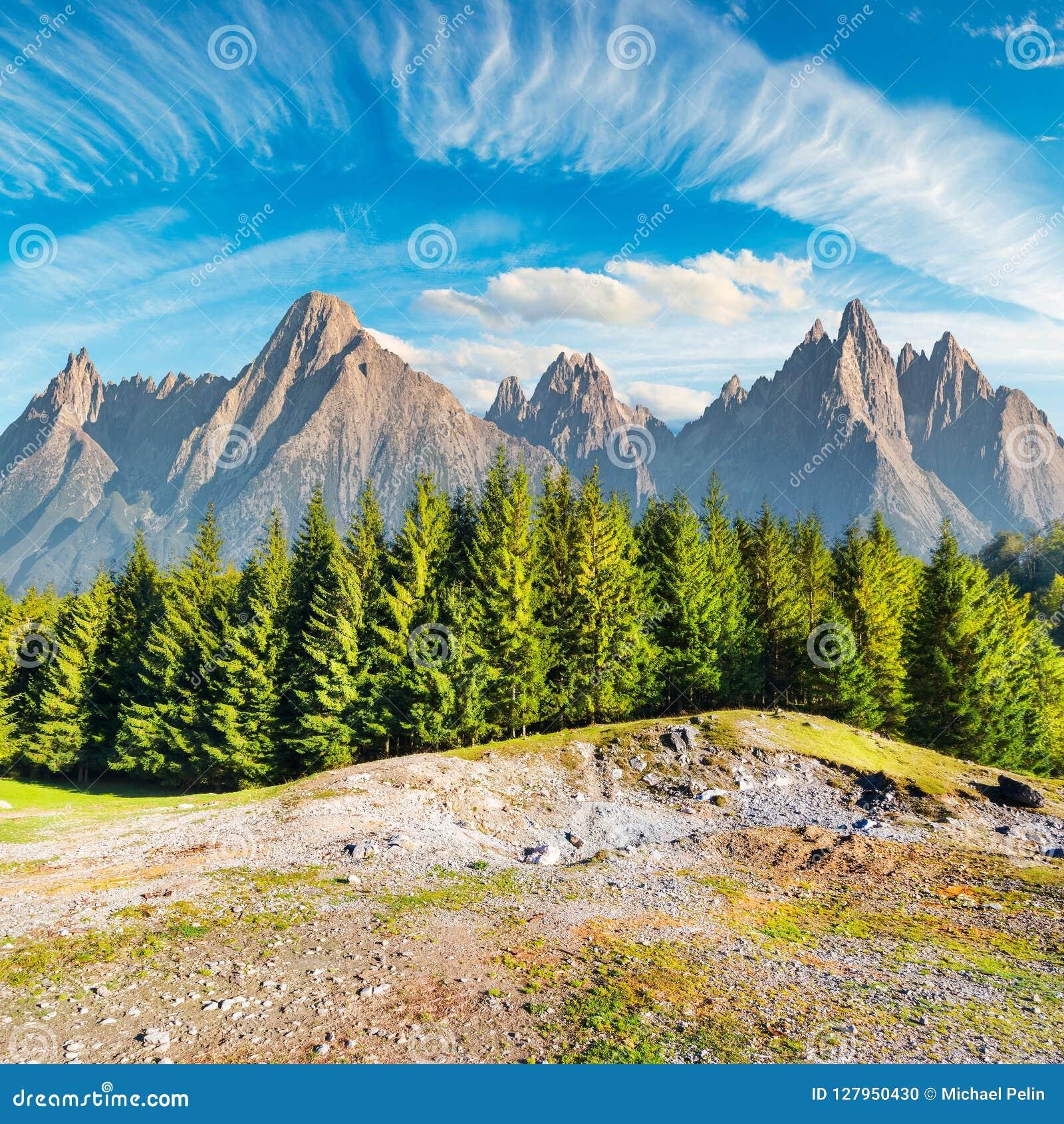 Composite image of High Tatra mountains