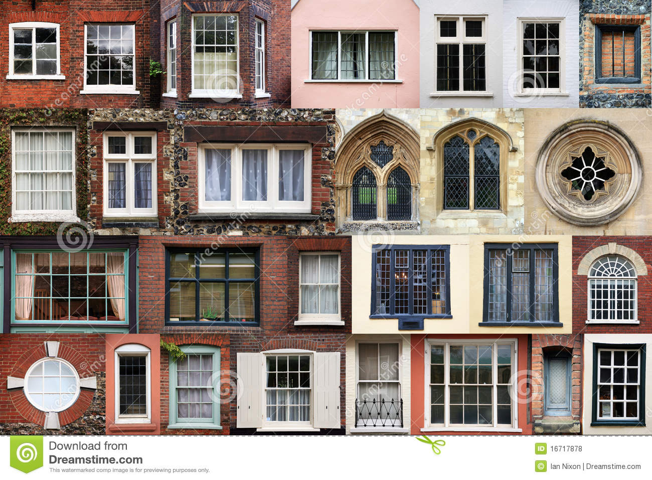 Composite of windows royalty free stock photos image for Composite windows