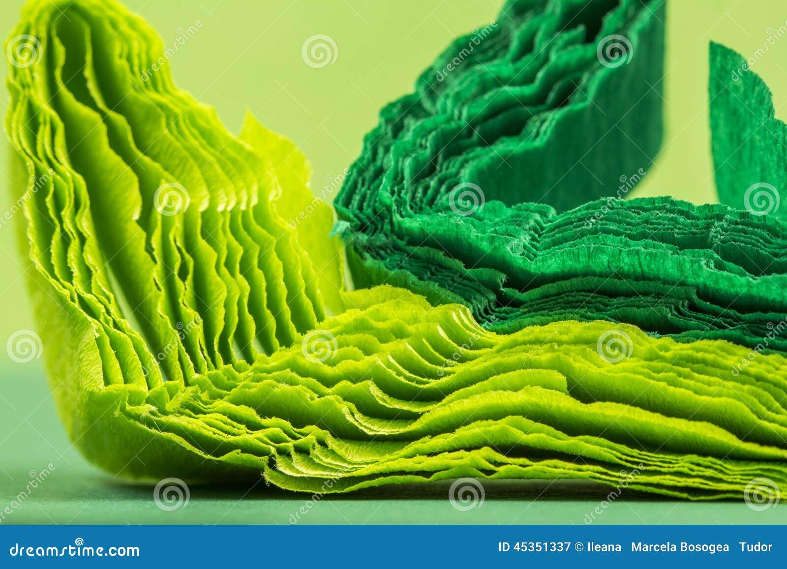 Composition abstraite colorée avec la crêpe