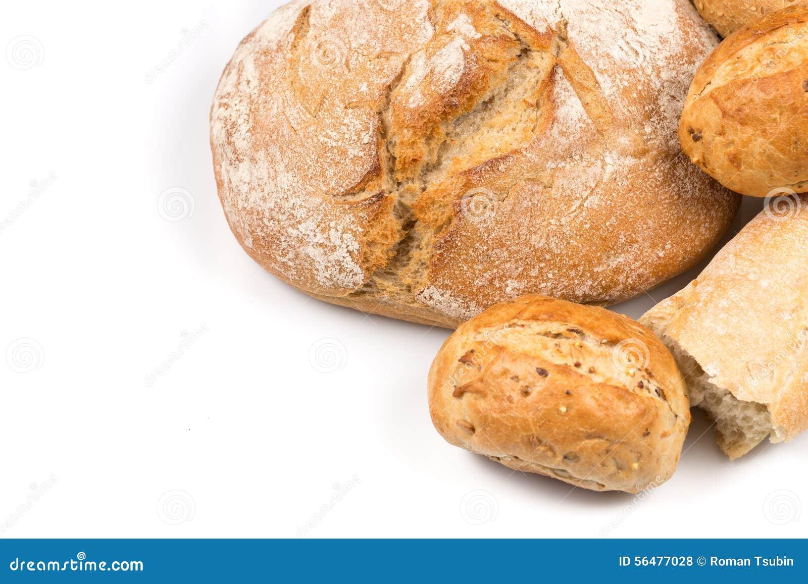 Composition avec du pain