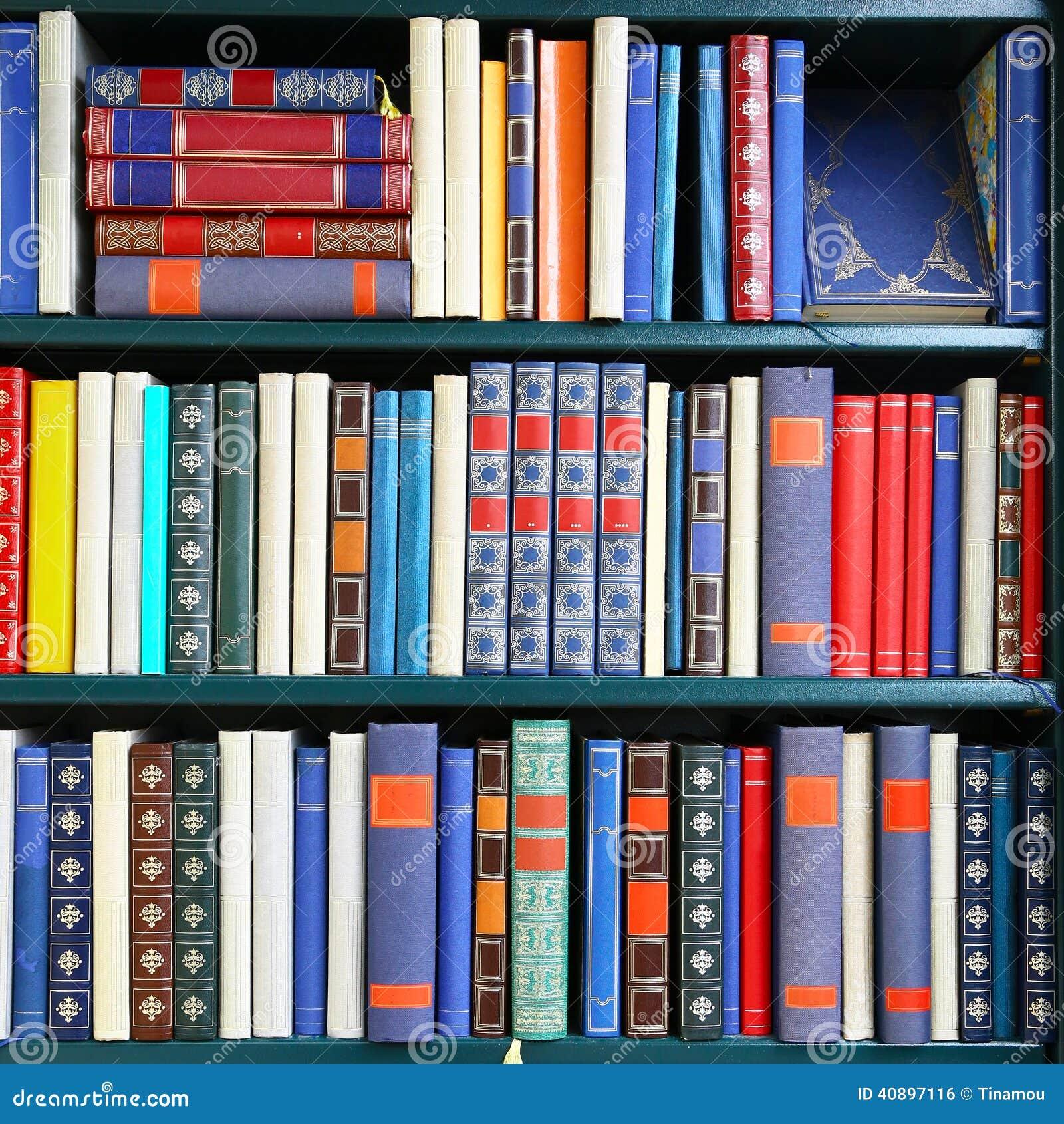 Composition Carr E De Vieux Livres Sur Une Biblioth Que Photo  # Bibliotheque Composition
