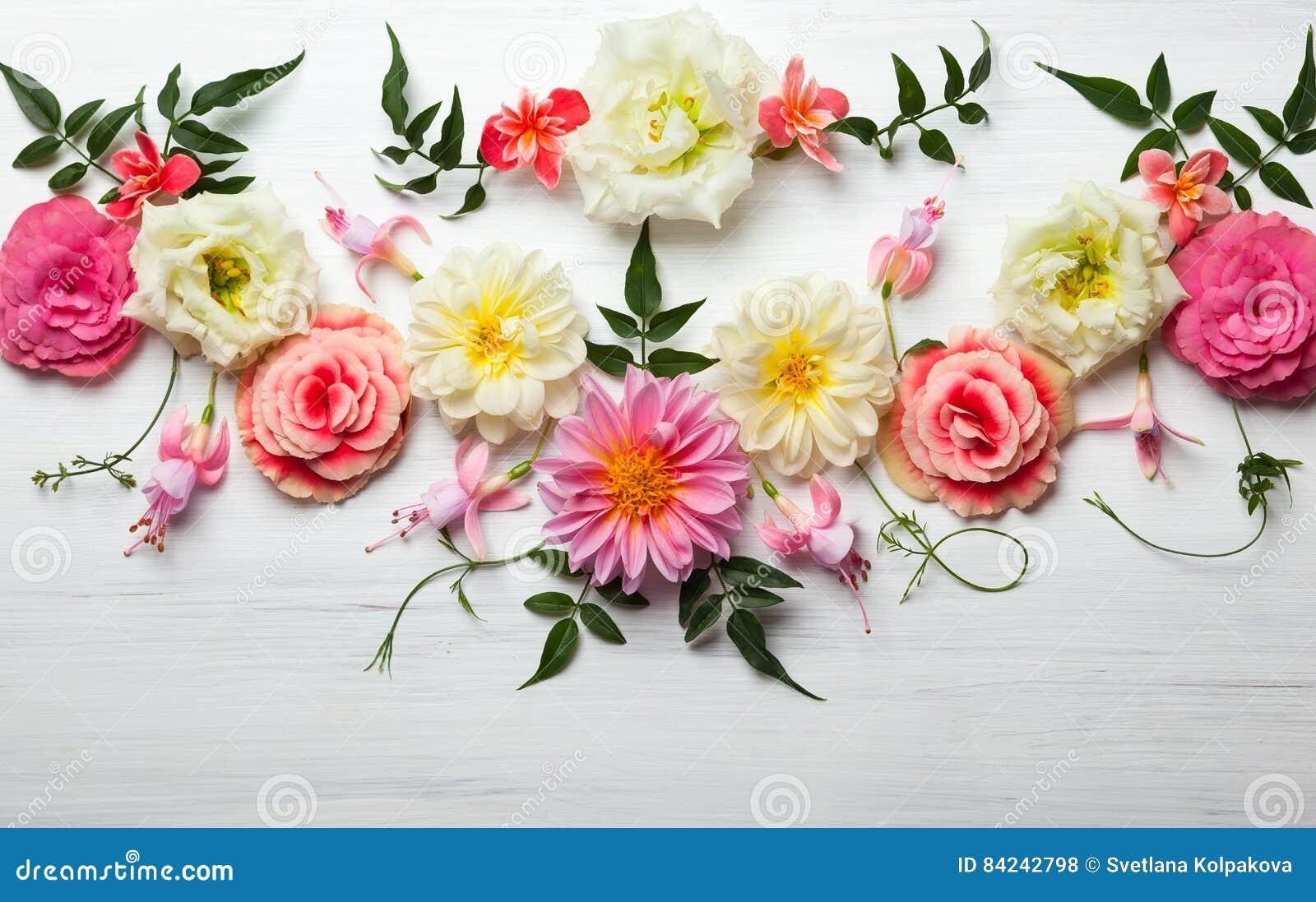 Composition de fleur photo stock image 84242798 - Composition de fleur ...