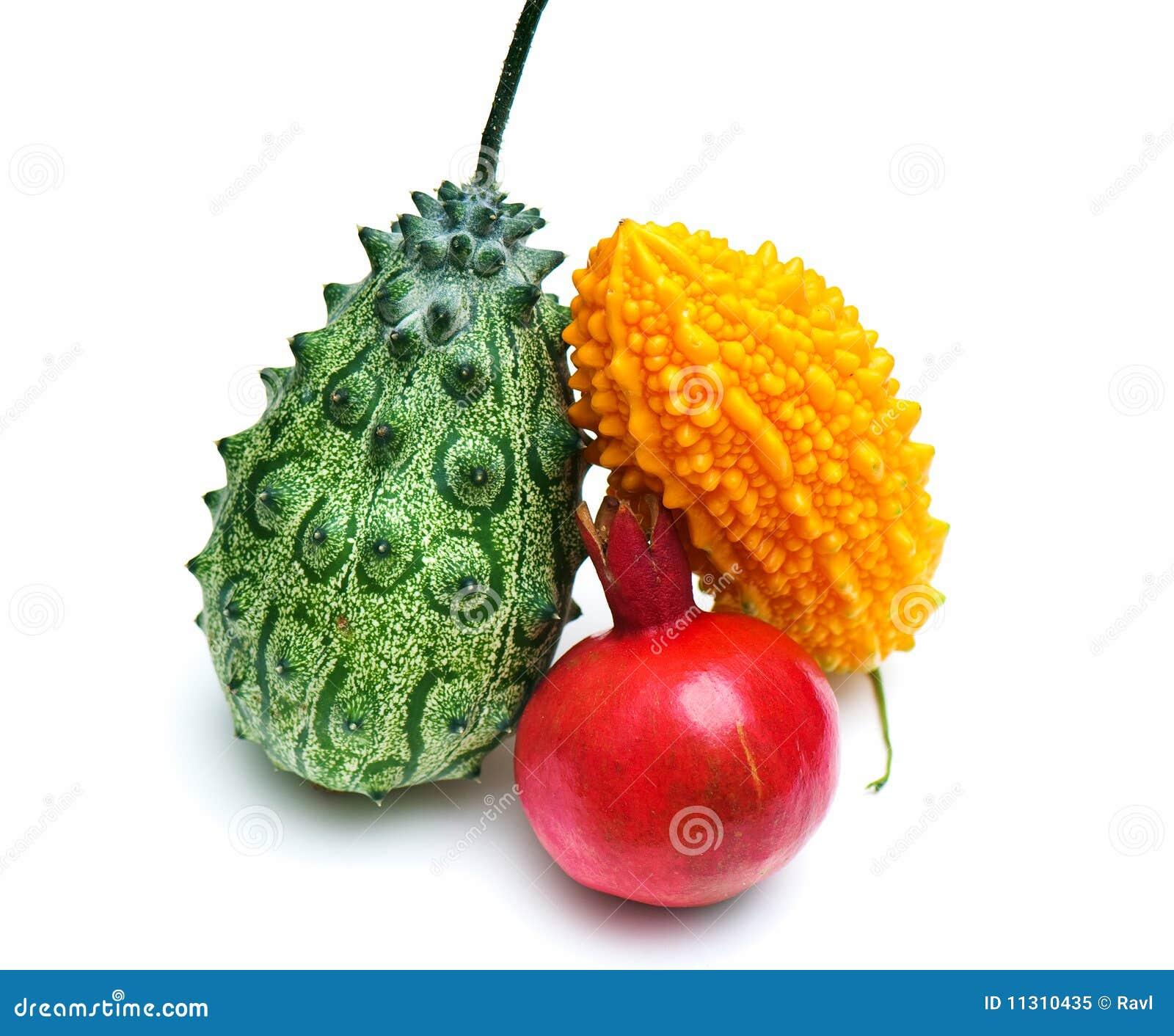 Composition de fruit exotique photo libre de droits - Image fruit exotique ...