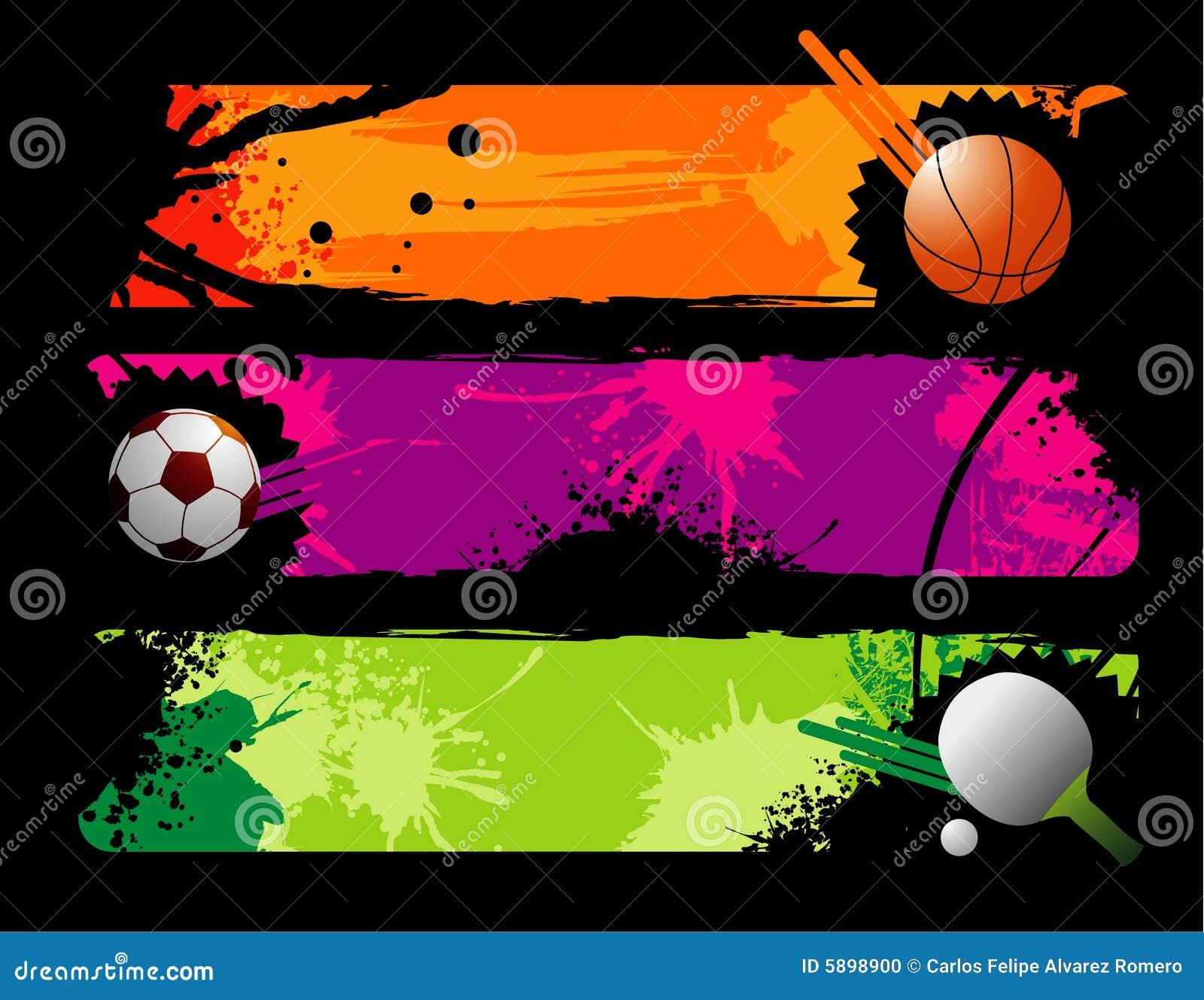 Composition de vecteur de sports