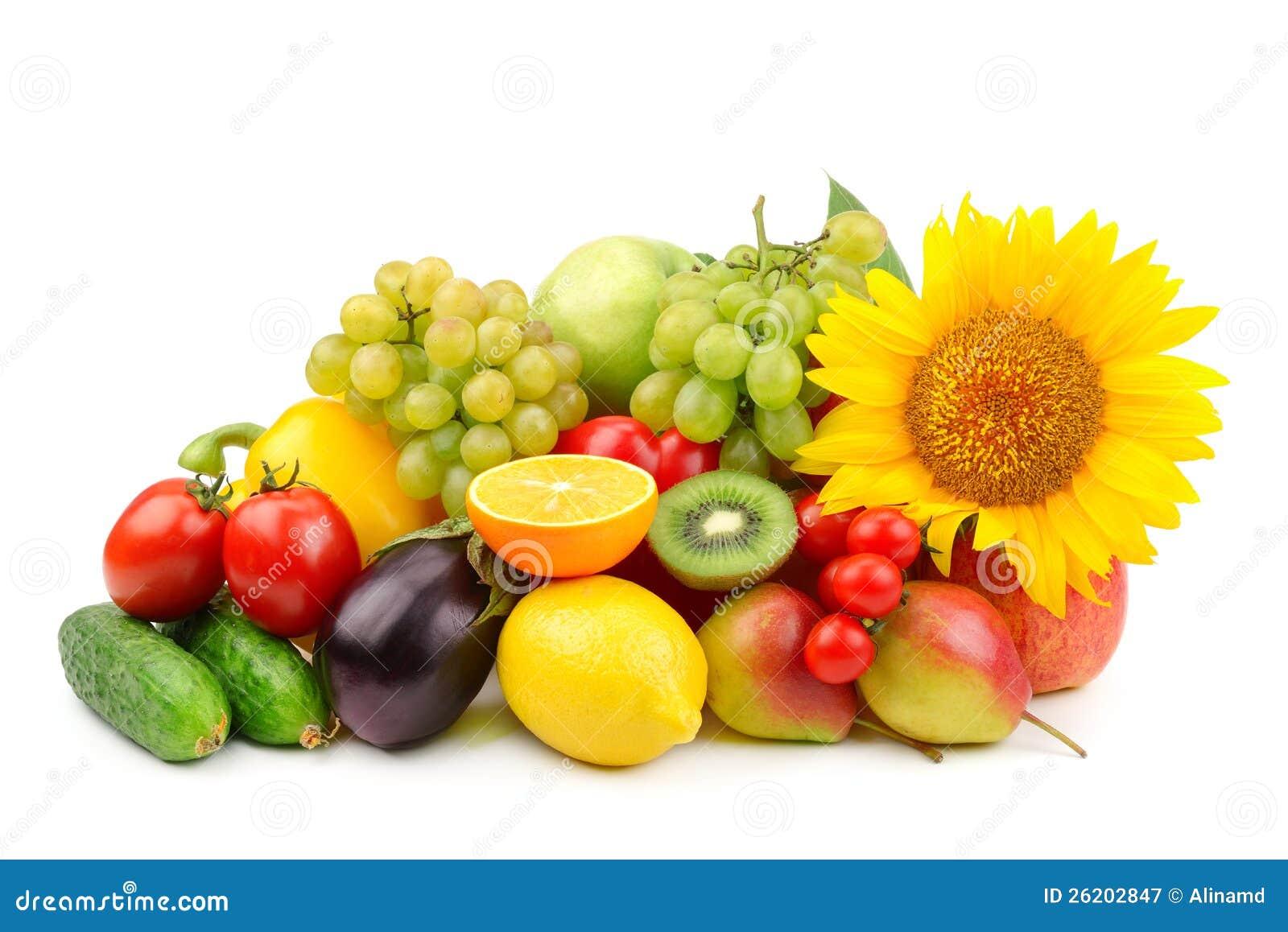 Composition des fruits et l gumes photographie stock libre de droits image 26202847 - Composition florale avec fruits legumes ...