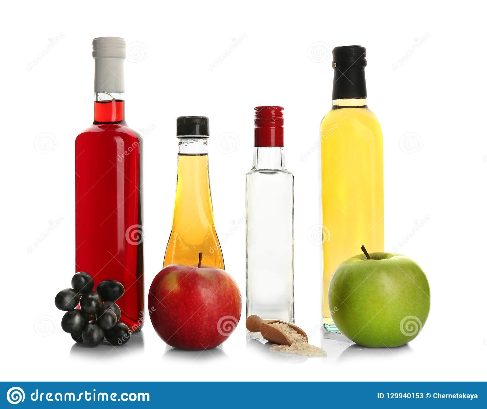 Composition with different kinds of vinegar