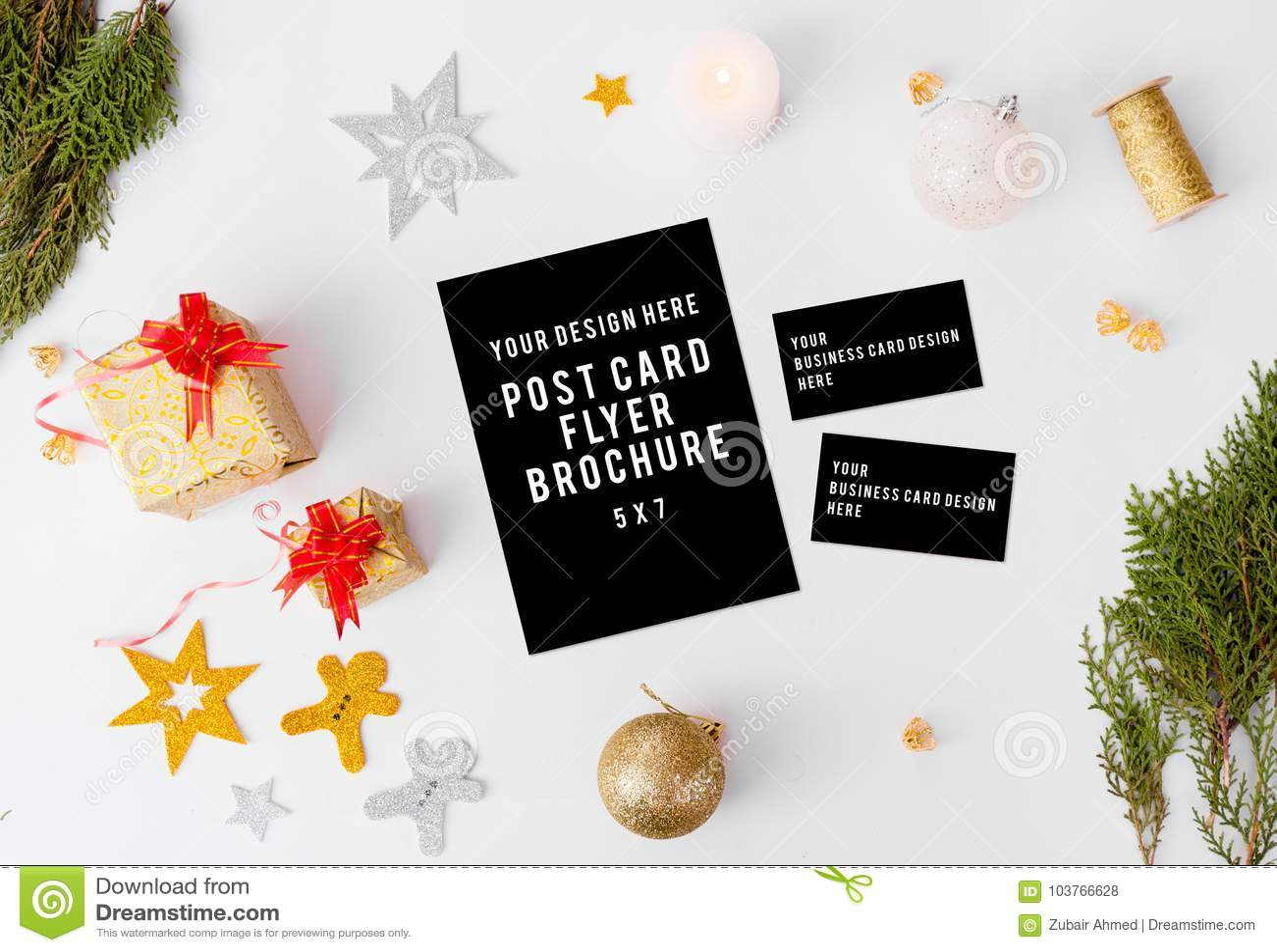 Download Composition En Nol De Cartes Visite Professionnelle Dinsecte Branches