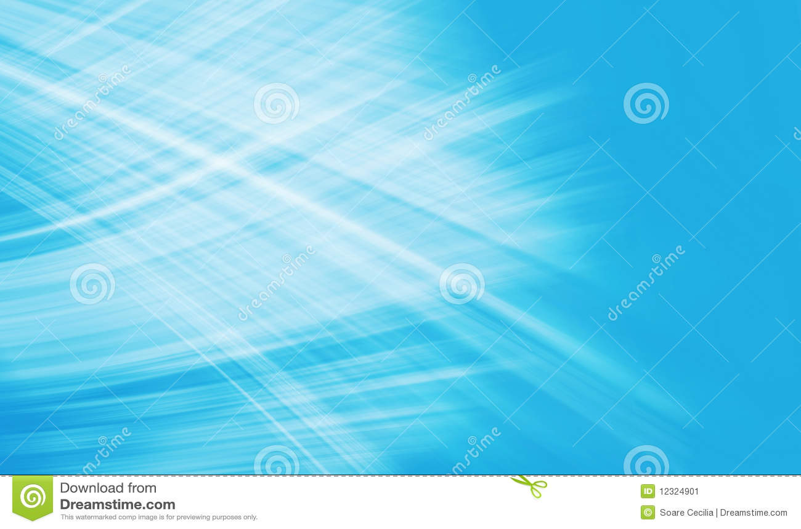 Composition légère bleue abstraite